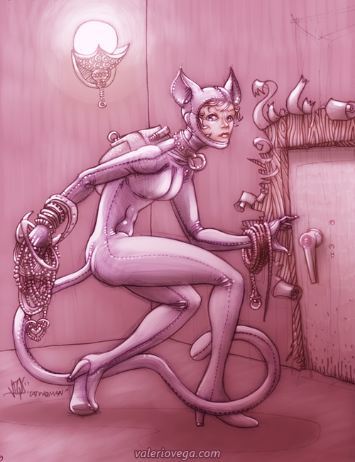 catwoman by valeriovega