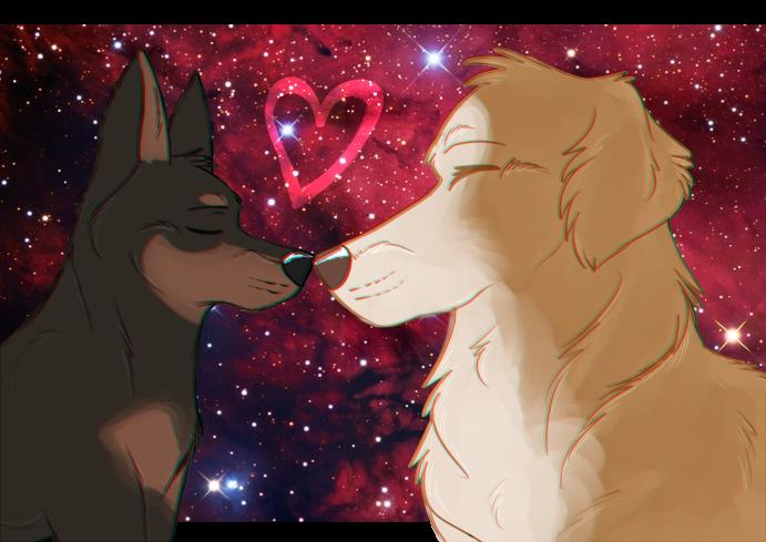 meet me in outerspace by BreyerKat