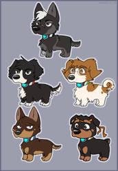 Pup Paladins by Rainie-Painie