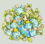 blueberry ichigo kitten by Melonkitten