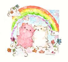 rainbow by Melonkitten