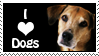 I Love Dogs Stamp by IcyCave-Stamp