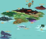 Legend of Spyro World Map