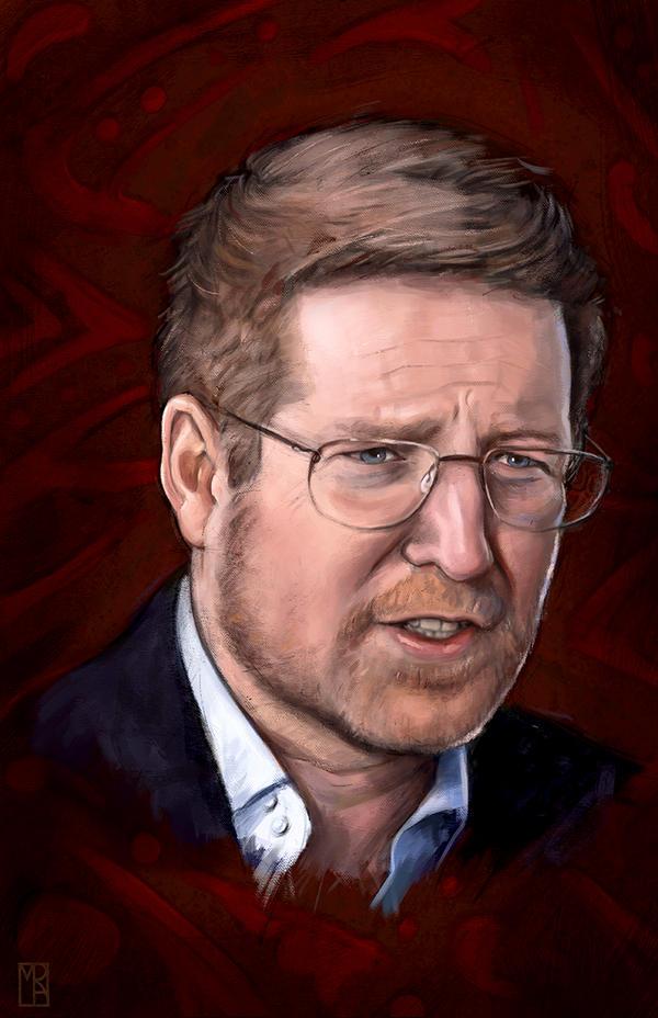 Portrait of Andrew Stanton by MatthewRabalais