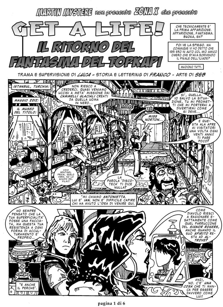 Get a Life 5 - pagina 1 by martin-mystere