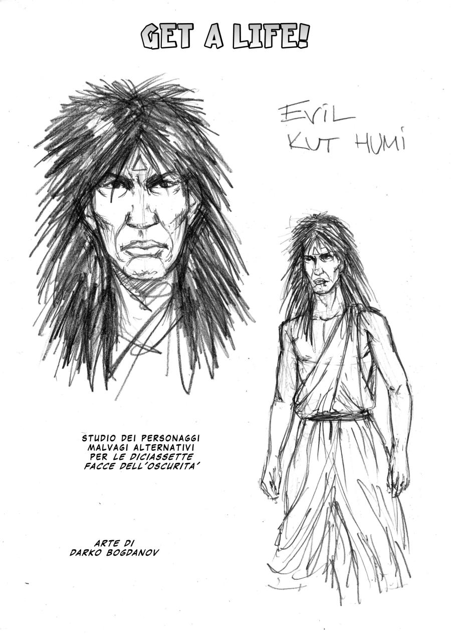 Studio per Evil Kut Humi by martin-mystere