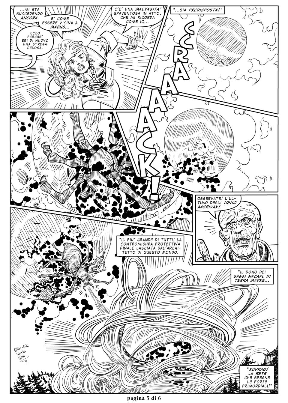 GAL 32 - Il ragno che fu cavato dalla Terra 4 - p5 by martin-mystere