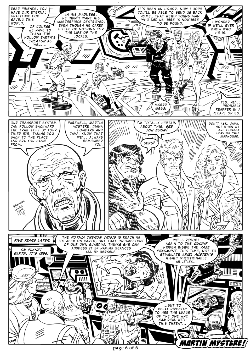 GAL 32 - The Hollow Earth Saga - part 4 - p06 by martin-mystere