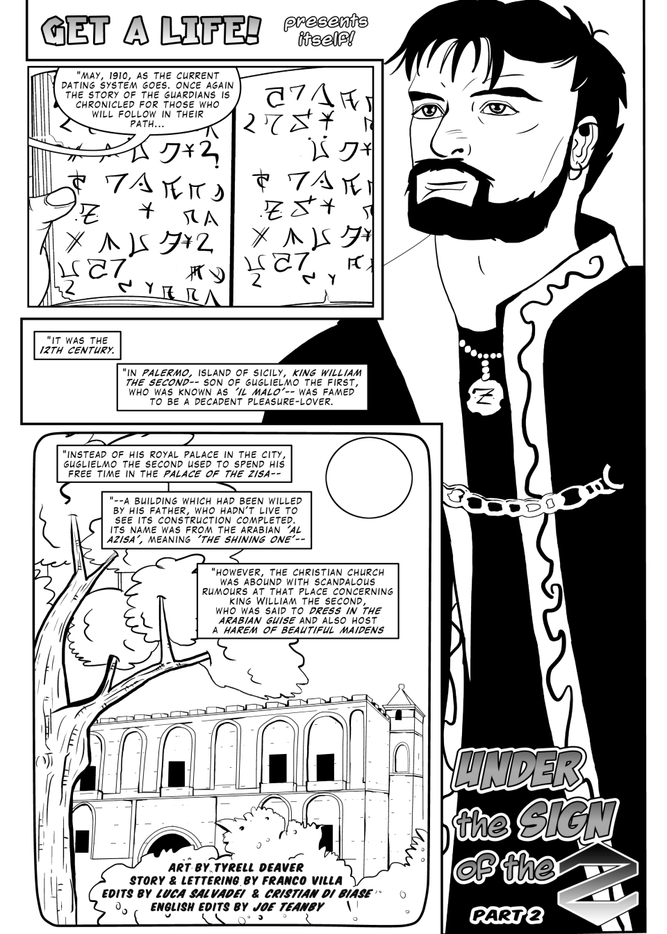 GAL 45 - Under the Sign of the Z part2 - p1