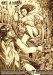 GaL bonus art - Zigomar versus Tarzan