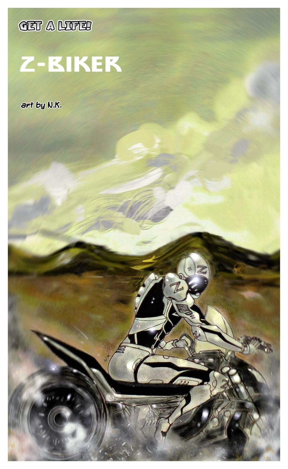 The Z-Biker - art bonus by NK