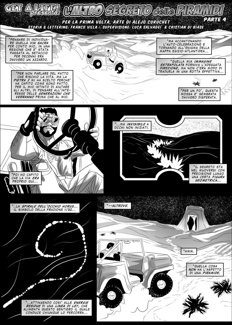 GAL 50 - L'altro segreto delle Piramidi 4 - p1 by martin-mystere