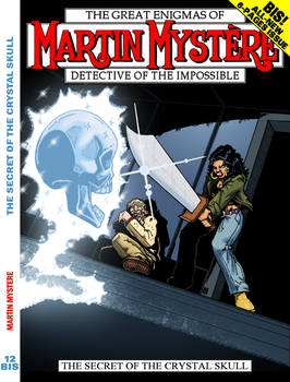 Martin Mystere n. 12bis - Cover