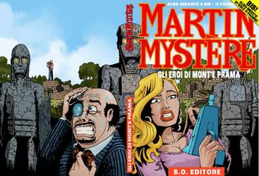 Copertina Martin Mystere Gigante n. 3bis
