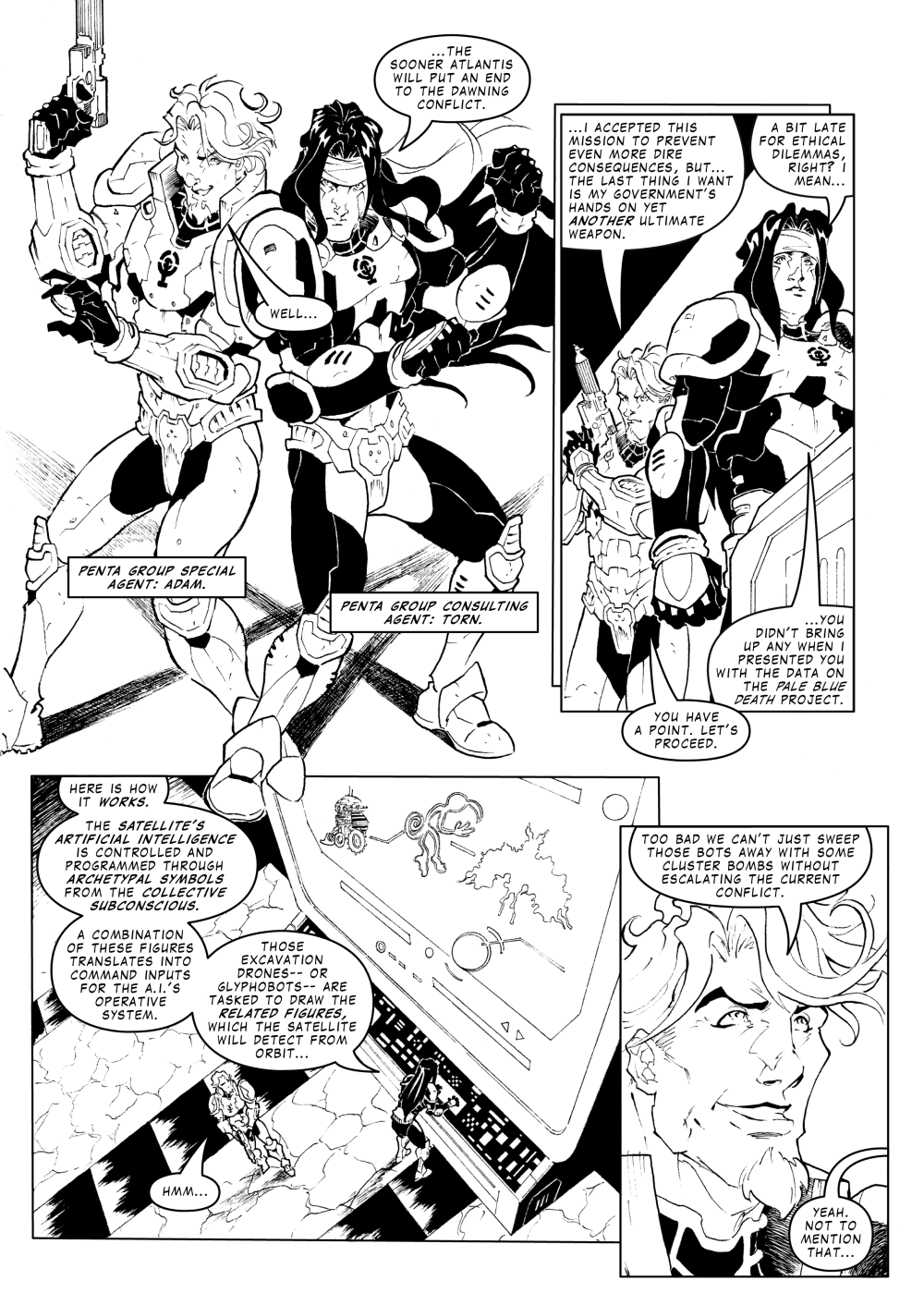 GAL 54 - Something about Nazca - page 6