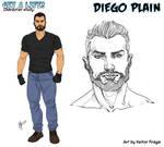 Studio per Diego Plain di H Fraga