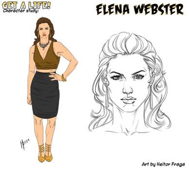 Studio per Elena Webster di H Fraga