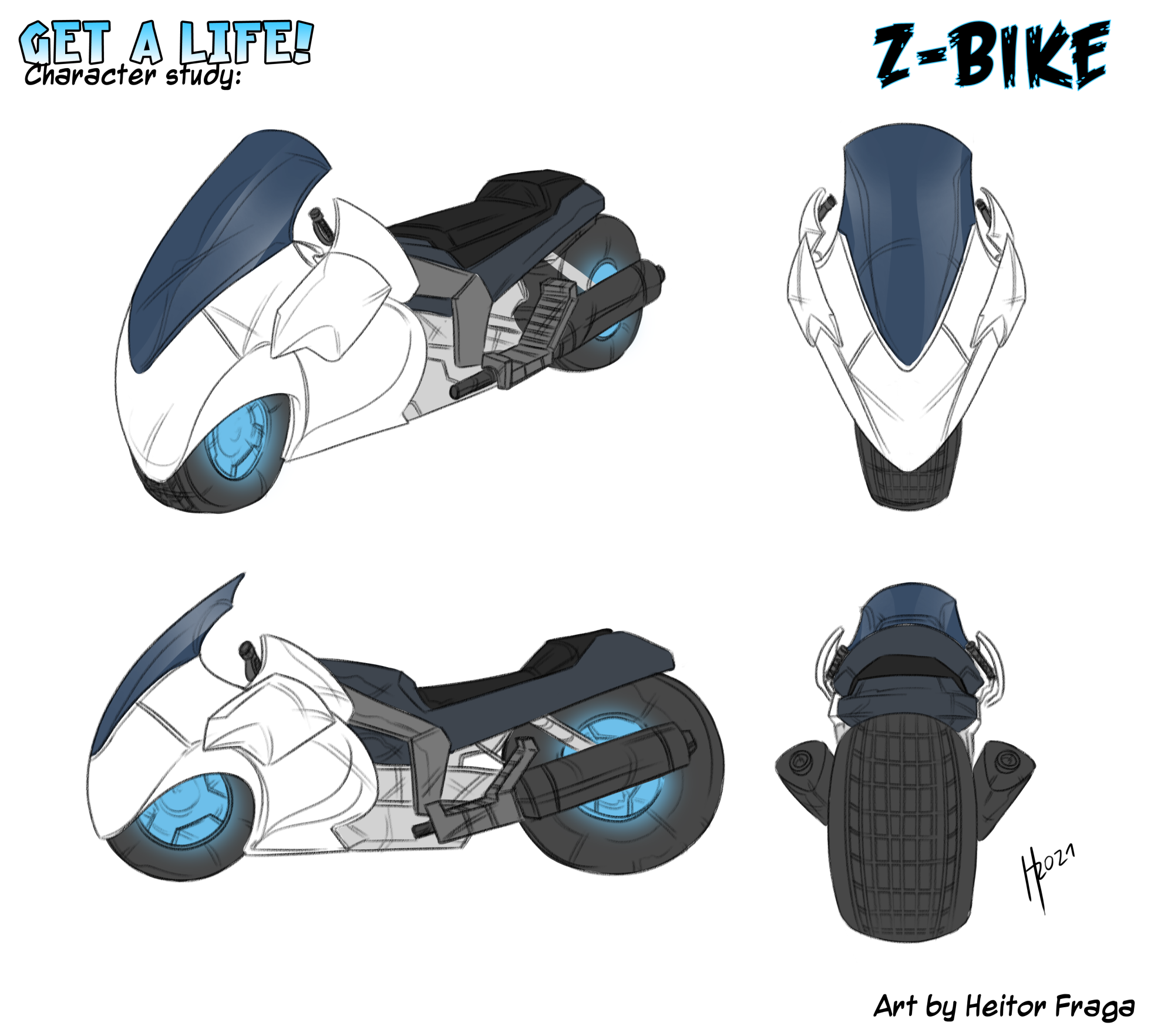 Studio per Z-Bike di H Fraga