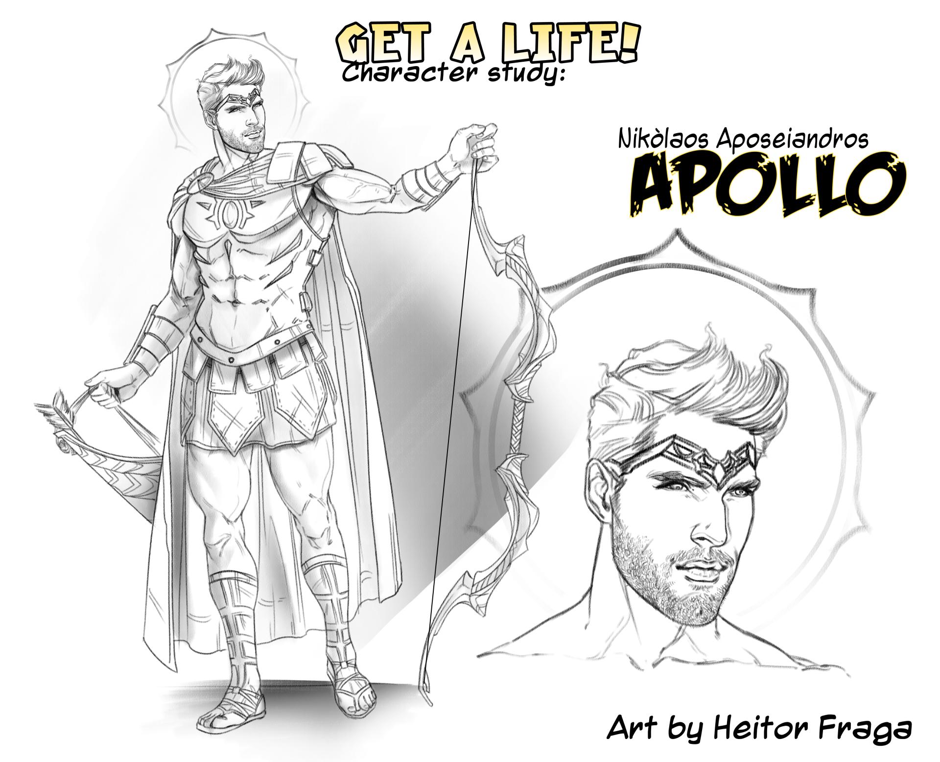 Studio per Apollo di H Fraga