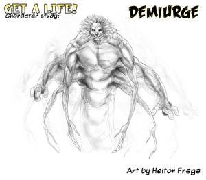 Studio per il Demiurgo di H. Fraga