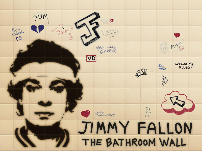 The Bathroom Wall by Jemmea
