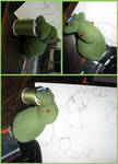 Cthulhu ducky prototype