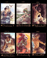 Volcanic Gods by melukilan