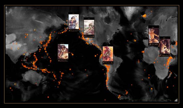 Volcanic Gods Map