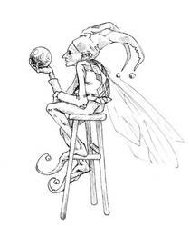Fae Jester by melukilan