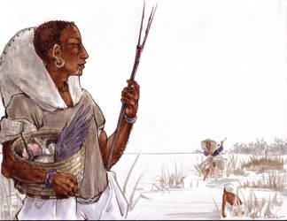 Handsome Man Fishing by melukilan