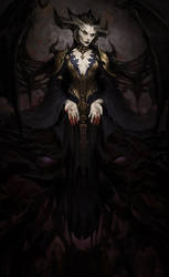 Lilith (Diablo fan art)