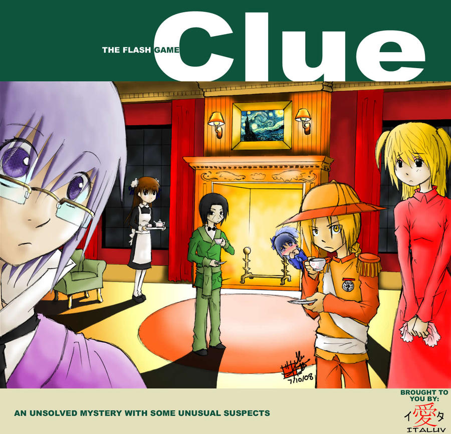 Cluedo Anime: CLUE -promo Pic- By ItaLuv On DeviantArt