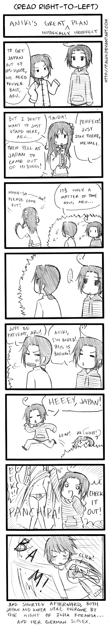 Aniki's Great Plan by ItaLuv