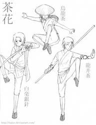 -Chahua- Shaolin Wushu by ItaLuv