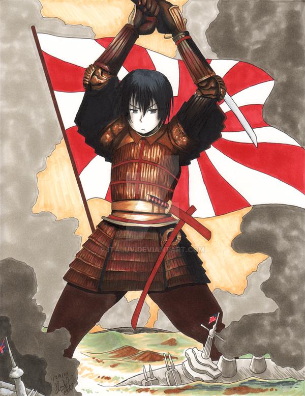 Hetalia WWII Posters- Japan by ItaLuv