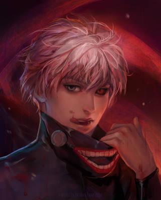 Kaneki Ken by j-witless