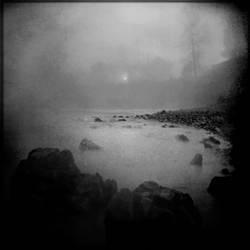 Fog On Knife River VI