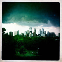 Mean Over The City by intao