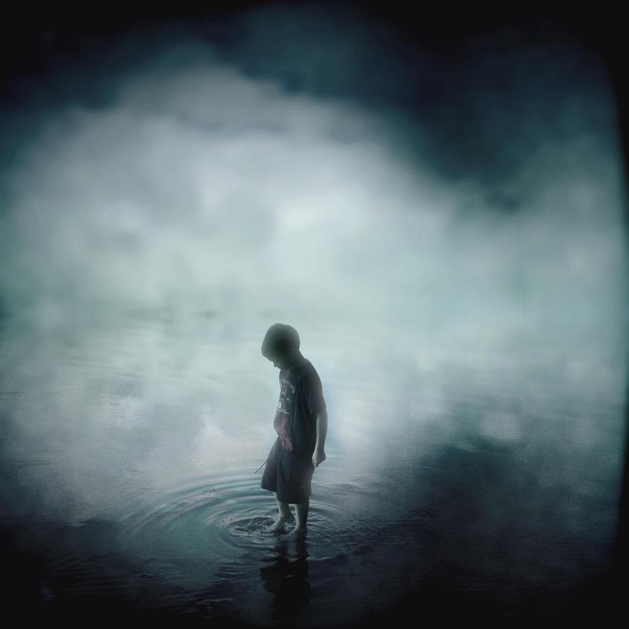 Boy Dreaming Blue by intao