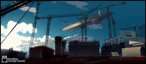 Graf Zeppelin 492 concept by Kamenstudio