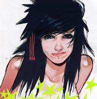 Girl wince KS4 by Kamenstudio