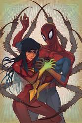 Spiders by Kamenstudio