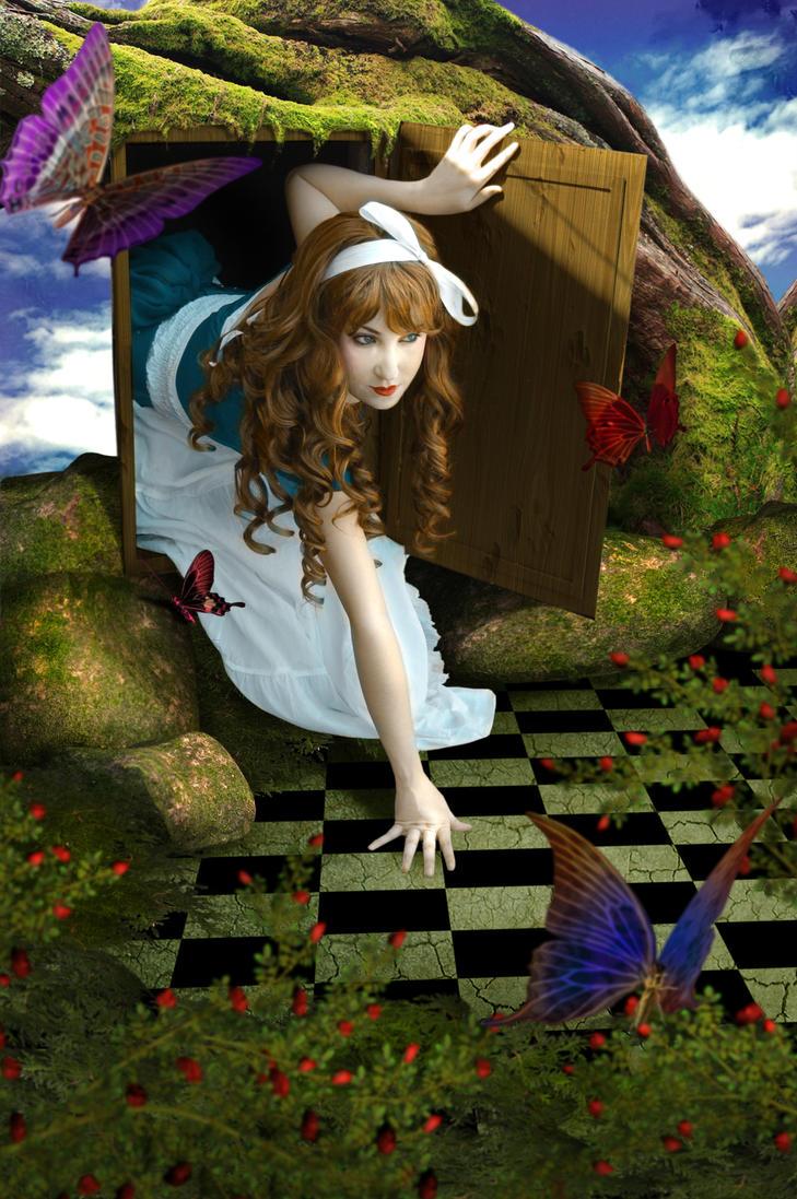 First Step In Wonderland by ShinyMeryl