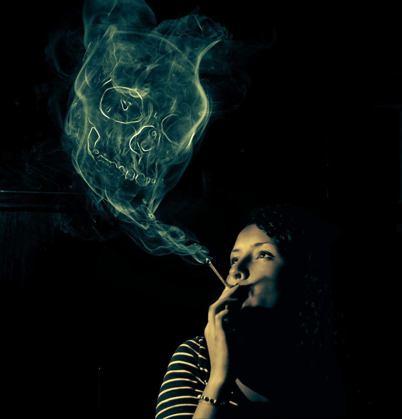Skull of Smoke by ThingsOnVcrs on DeviantArt