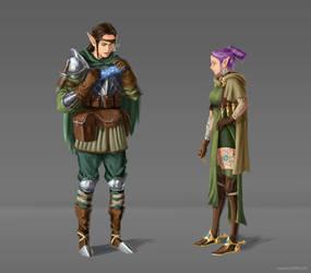 Elf Siblings