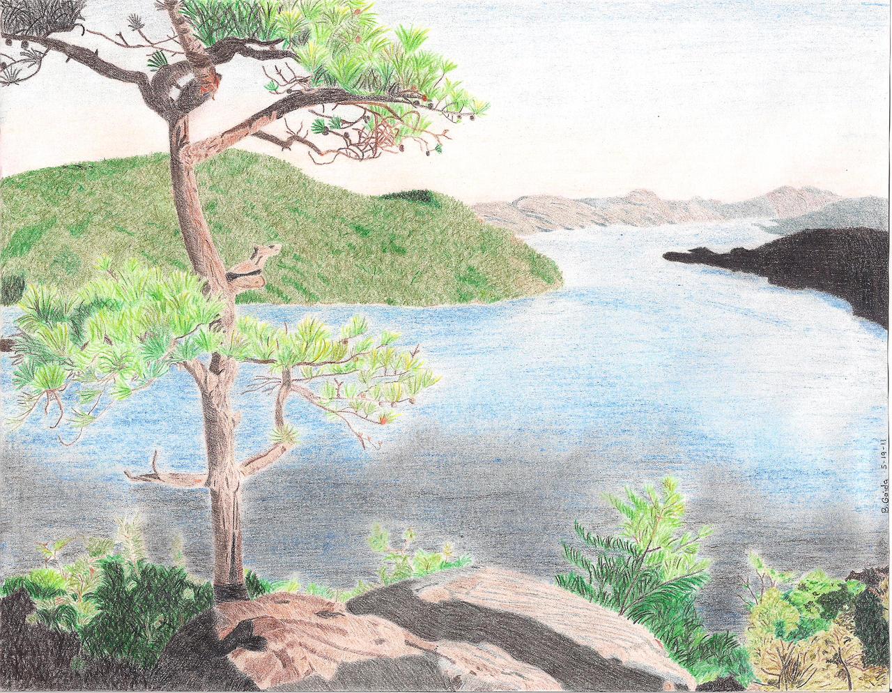 Draw A Landscape - Lessons - Tes Teach