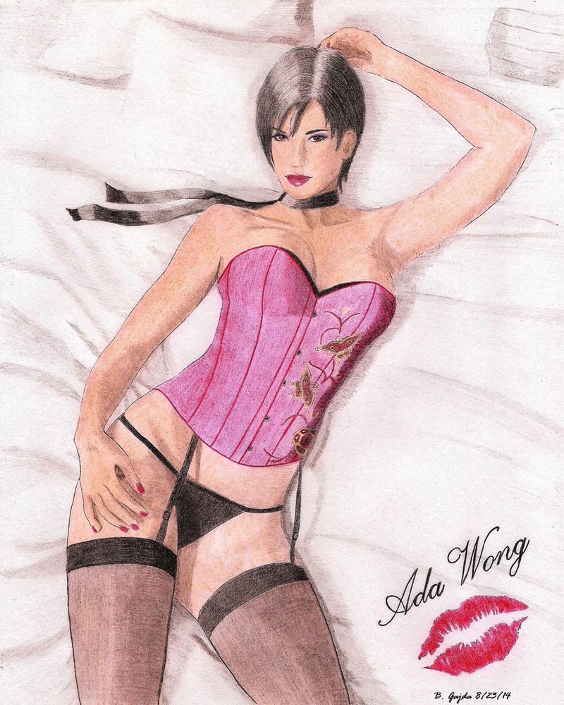 Ada Wong - RE 4 Pinup Art by BGShepard