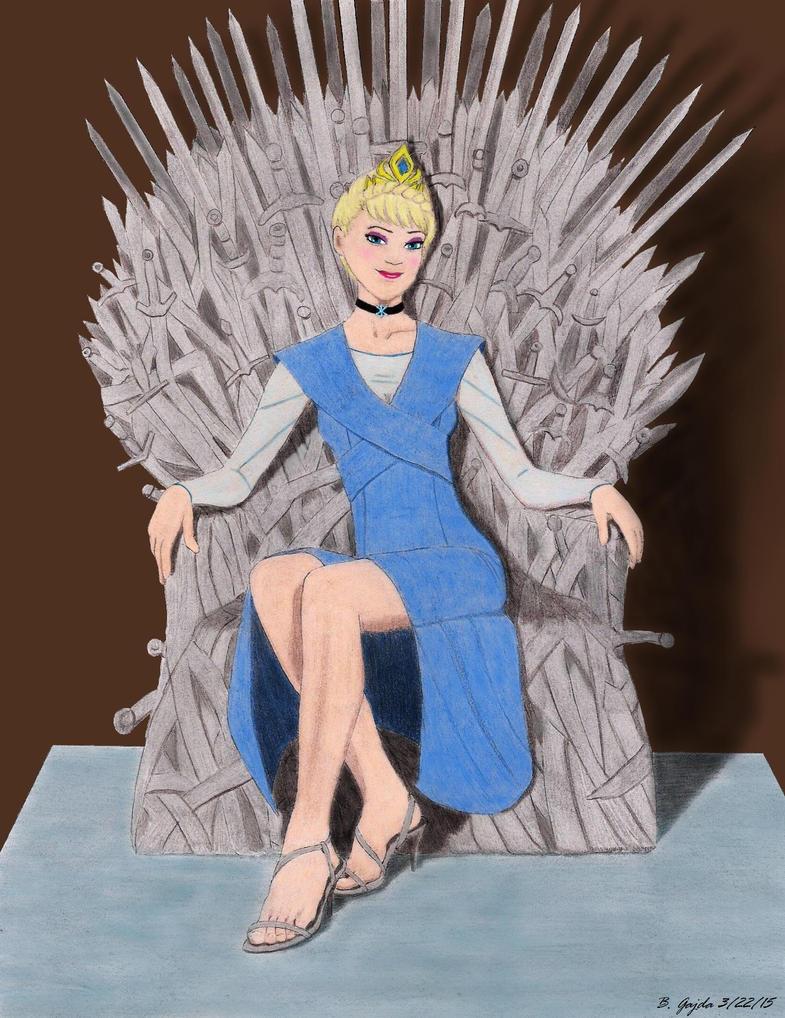 Queen Elsa of the Seven Kingdoms by BGShepard