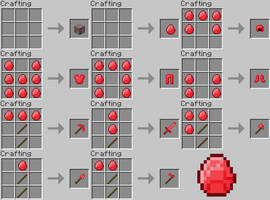 Minecraft Idea - Ruby Tools and Armour
