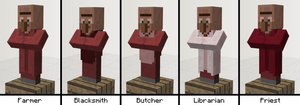 Minecraft Mob Idea - Mushroom Villagers